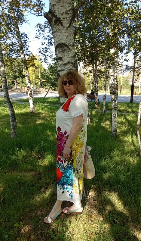 Платье изкупона «Цветочная полянка»