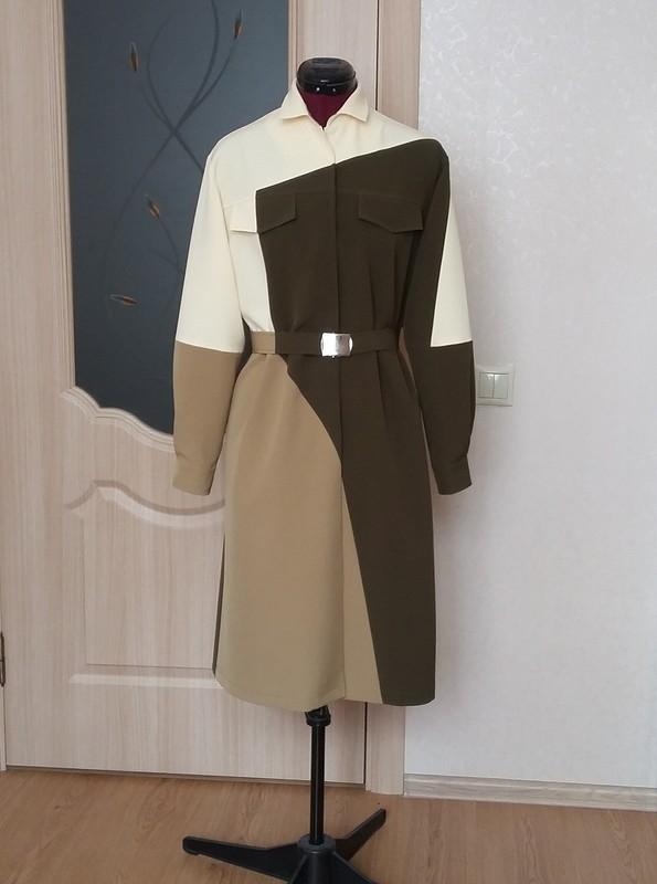 Платье-рубашка от Людмила Лебедева