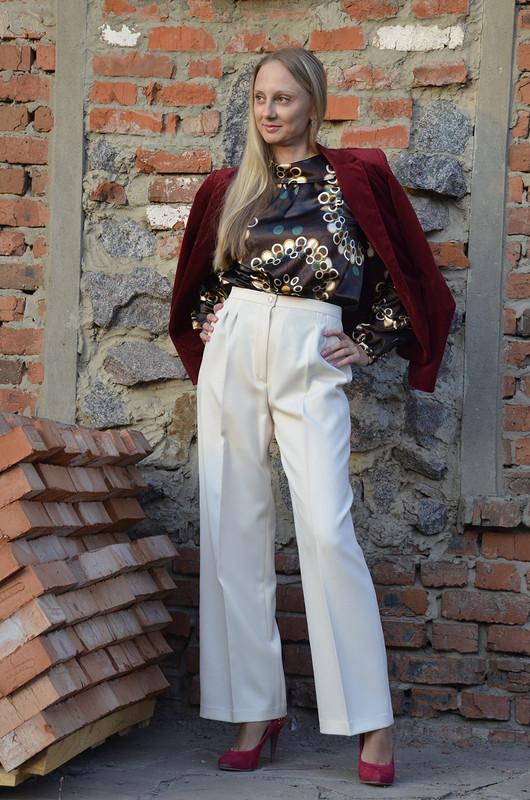 Блузка «Смело комбинируйте!» от solnichko