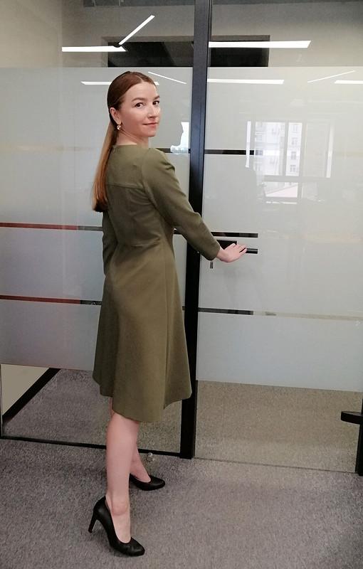 Платье изджерси от superkot