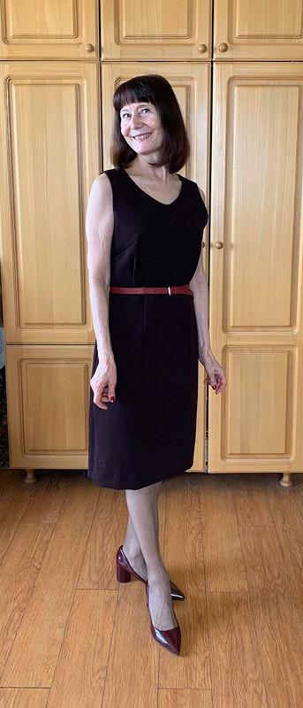 Маленькое черешневое платье
