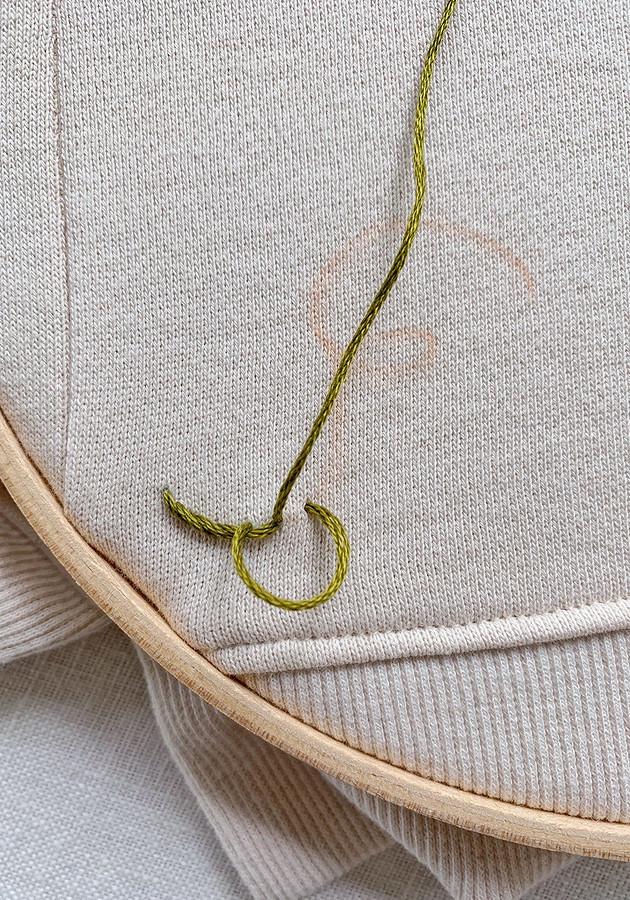 Идея: яркая вышивка встиле дудл дляукрашения одежды
