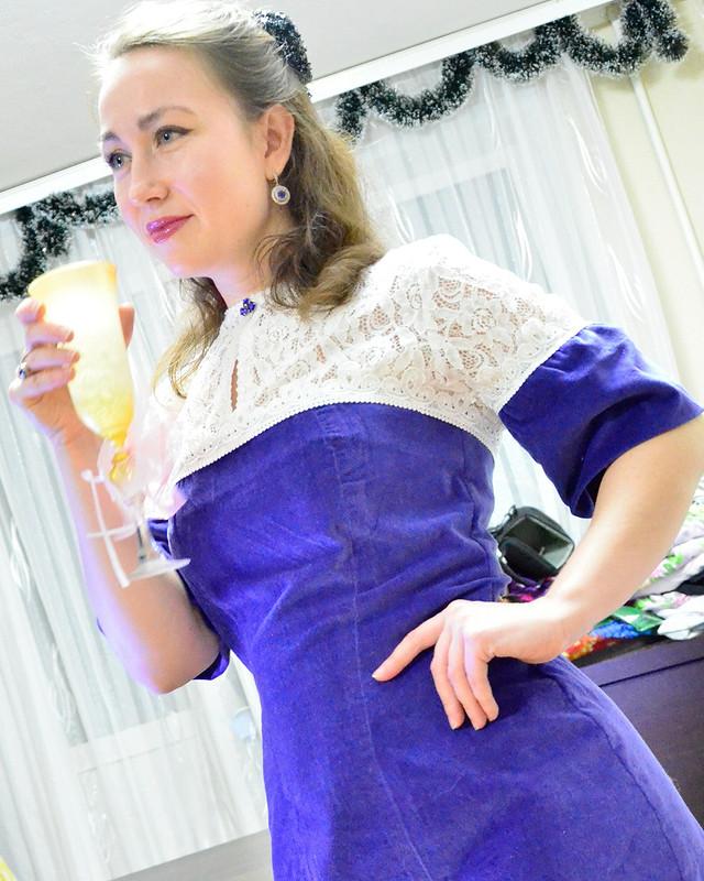 Платье помотивам Ульяны Сергеенко