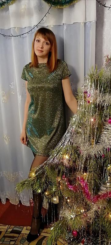 Моё платье нановый год!