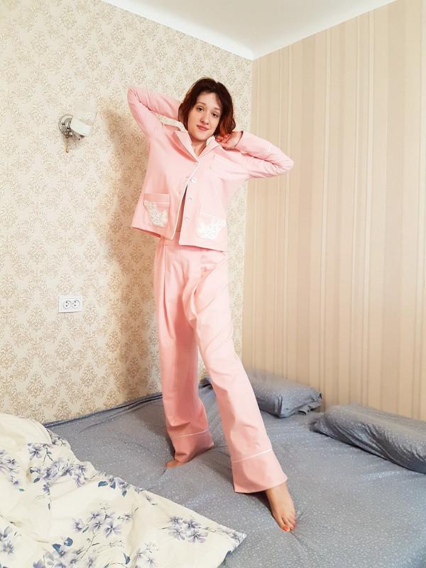 Пижама «Морозное кружево»