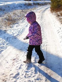 Работа с названием Детский зимний костюм: куртка и полукомбинезон