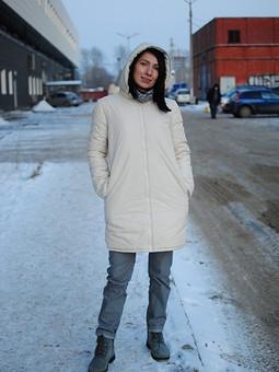Работа с названием Куртка на холодную осень