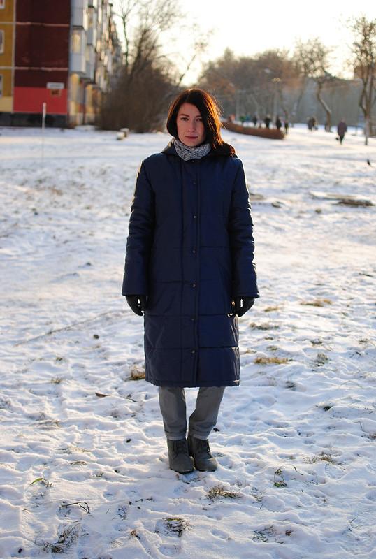 Куртка-пуховик нахолодную зиму