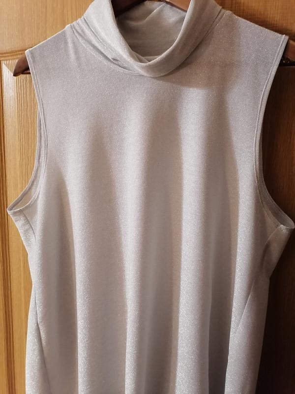 Платье сбантовой складкой