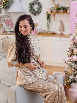 Работа с названием ♡ Костюм в пижамном стиле ♡