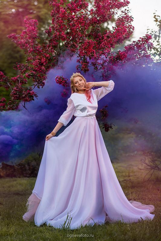 Платье «Белая нежность»