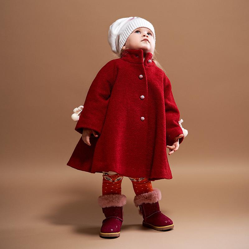 Расклешённое пальто длядевочки