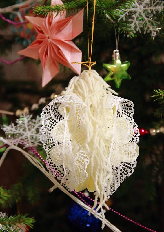 Ёлочная игрушка «Рождественский агнел»
