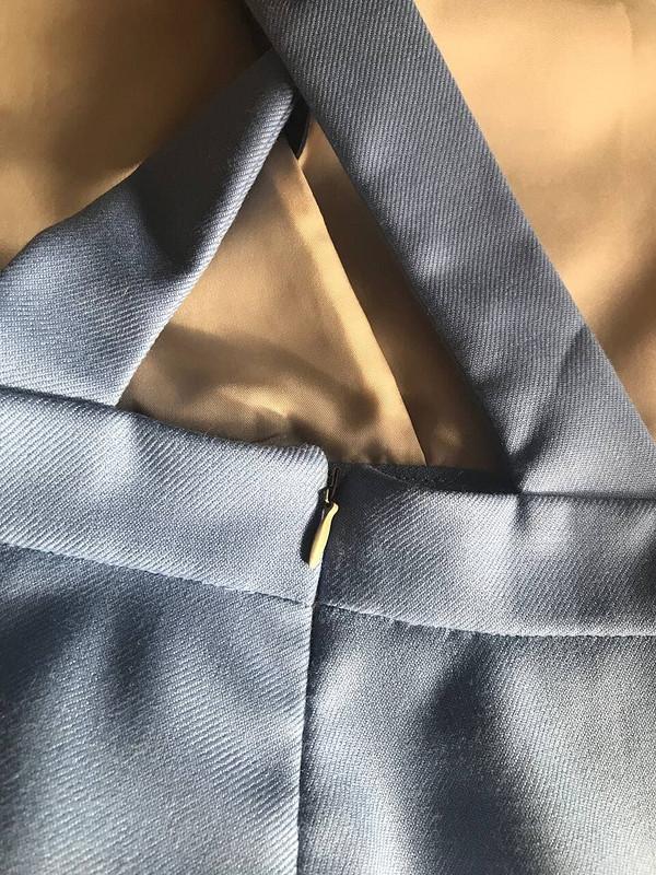 Голубой сарафан