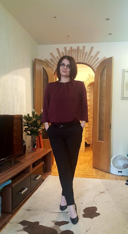 Моя первая полноценная блузка от TElenAlek