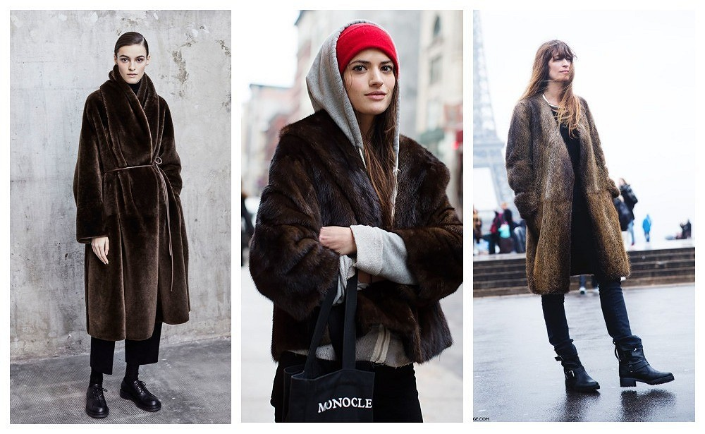 Как носить натуральную шубу ивыглядеть современно: 9 примеров образов вразных стилях