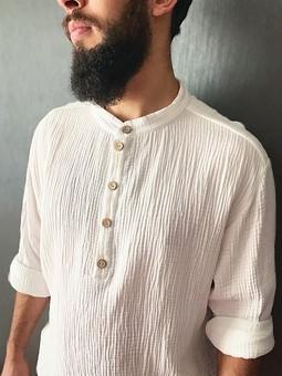 Работа с названием Рубашка со стойкой