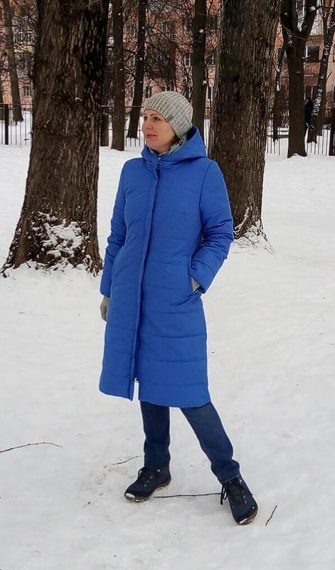 Пальто женское стеганое от Аквилегия