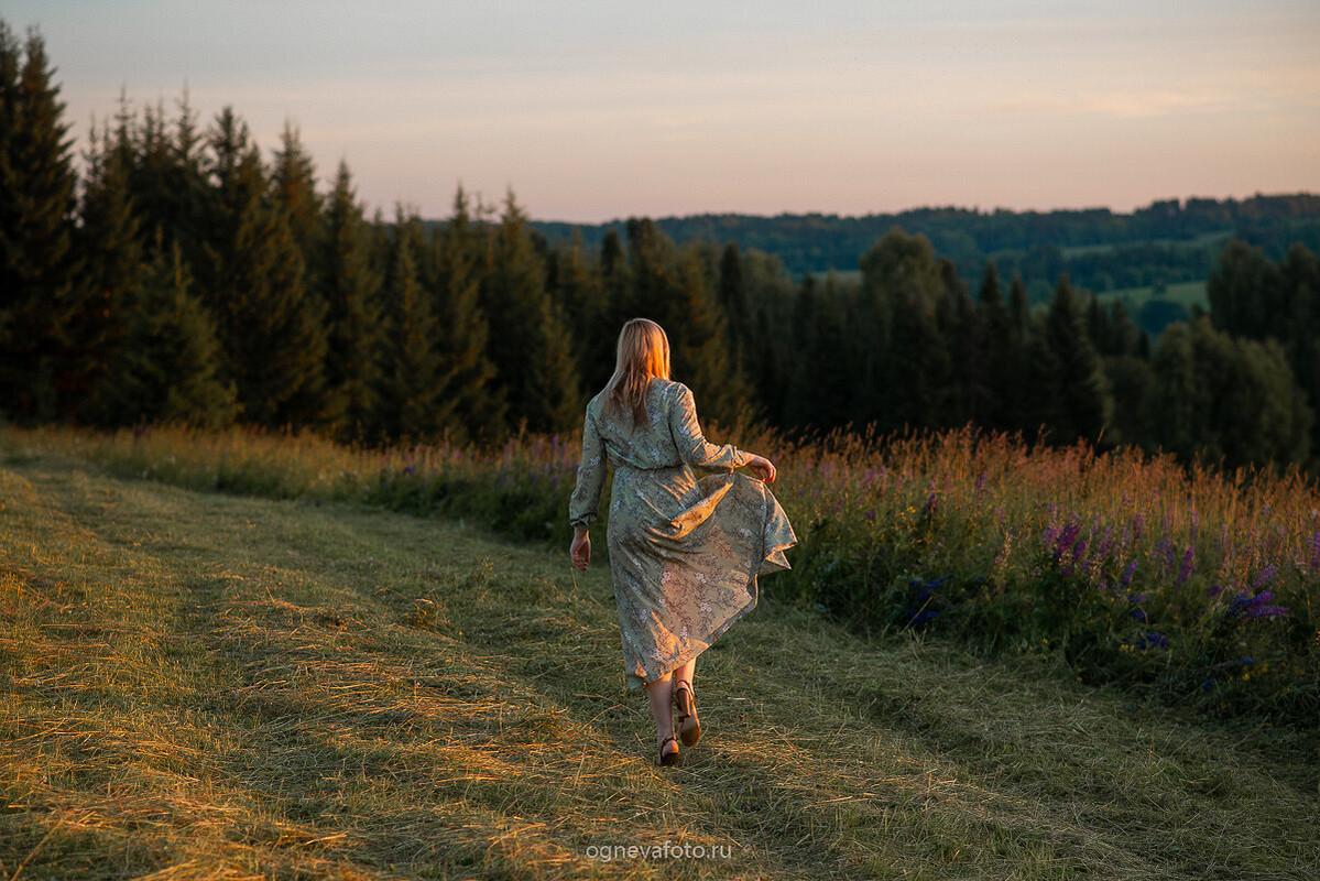 Летнее платье сзапАхом от Ксения О