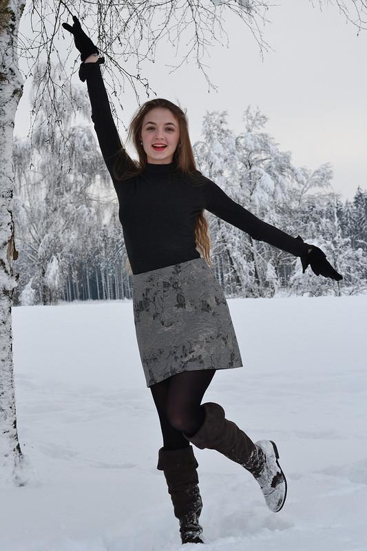 Юбка «Зимняя...красивая» от София Романова