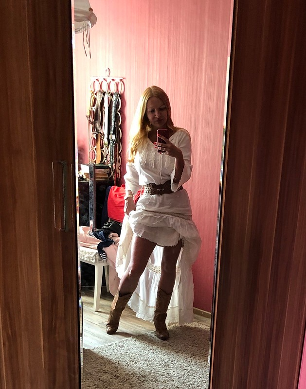 Летнее платье бохо от Лесёнок