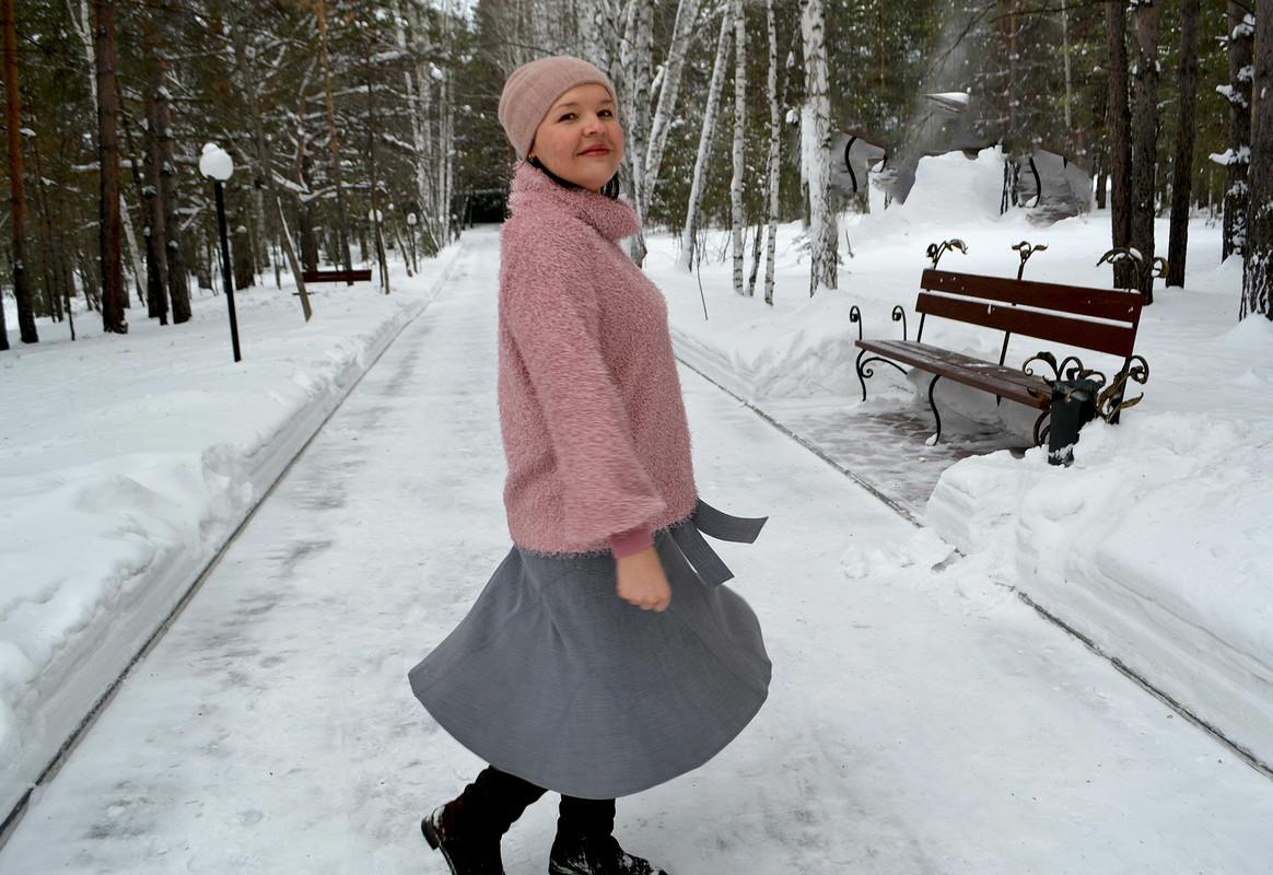 Пуловер «Розовый плюша» от Любаева Светлана