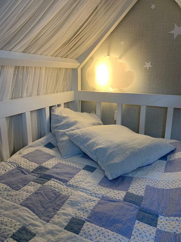 Детское одеяло-пэчворк от Елена  Ачаева