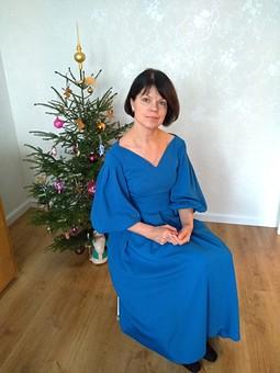 Работа с названием Моё новогоднее платье