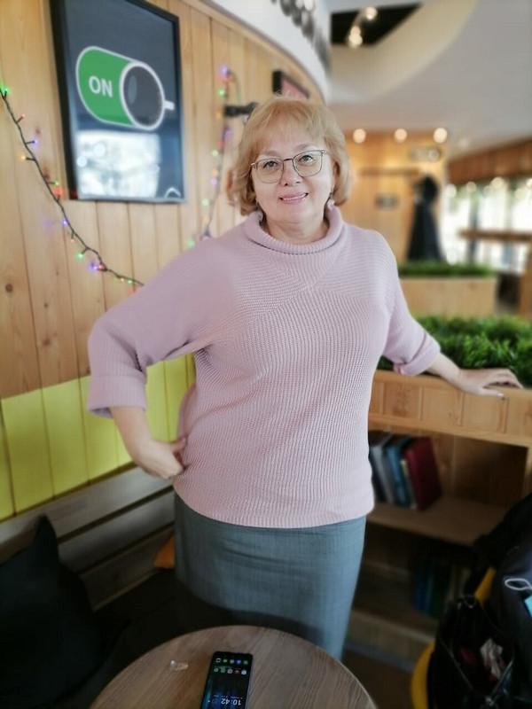 Пуловер «Модный оверсайз» от Taura