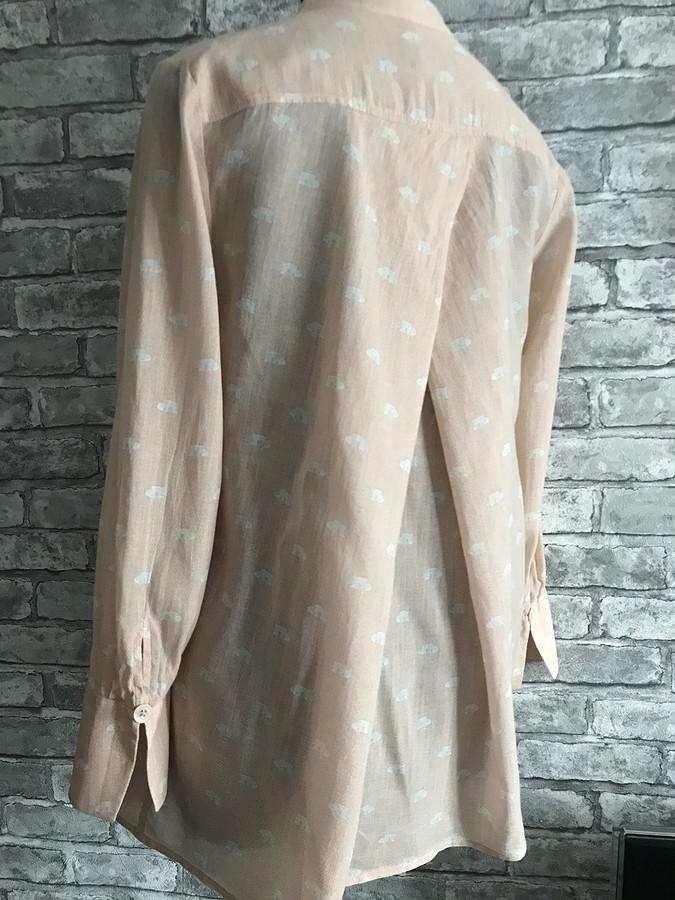 Блузка-рубашка А-силуэта: обзор выкройки 105 изBurda Style 4/2019