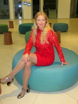 Работа с названием Платье в Новогодний день