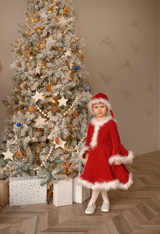 Платье «Velvet Christmas Dress»