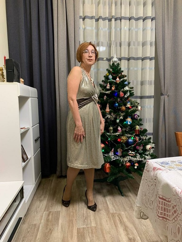 Платье «Новогодний стиль»