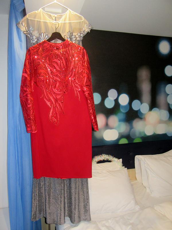 Платье вНовогодний день
