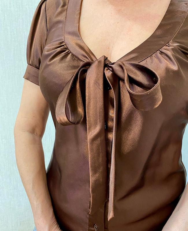 Блузка сбантом от lukinairina01