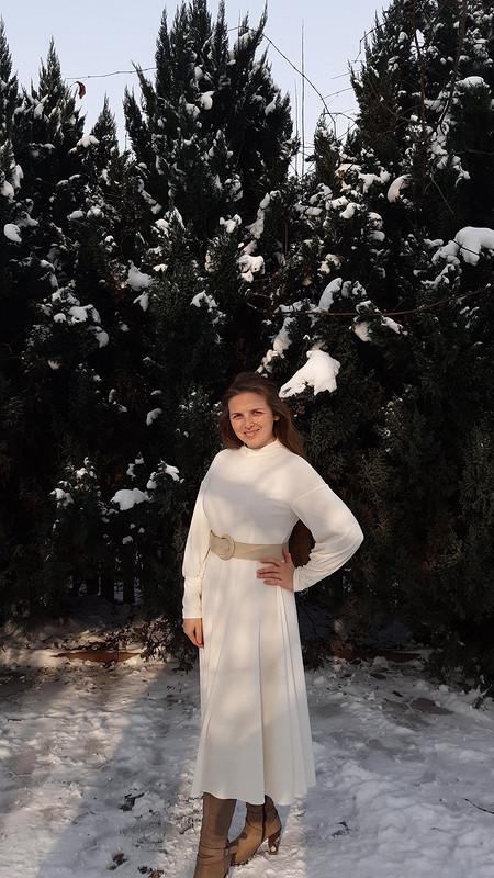 Платье «Снежная королева» от OlyaRoz