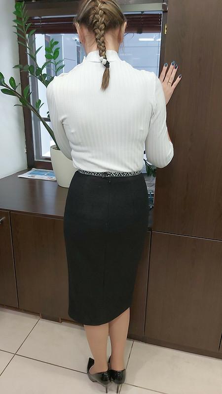 Тёплая зимняя юбка от KAZANKAT