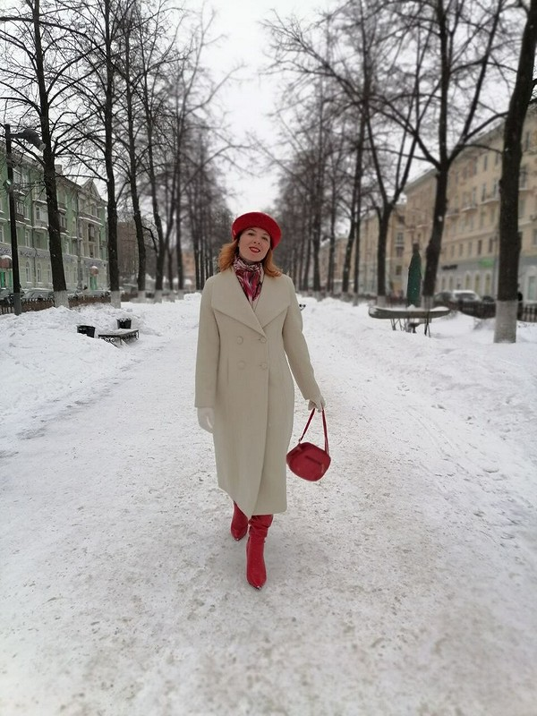 Пальто навесну от Nadj