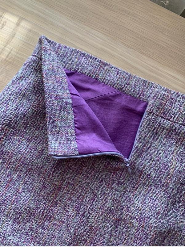 Мини-юбка изтвида от Karamesh