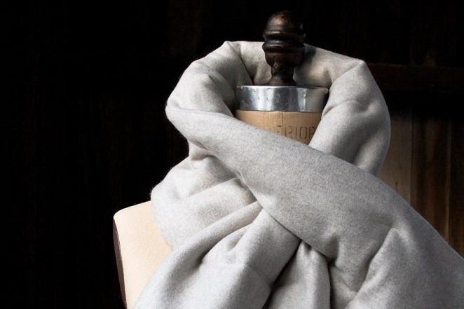 На пике моды: как сшить стеганый шарф