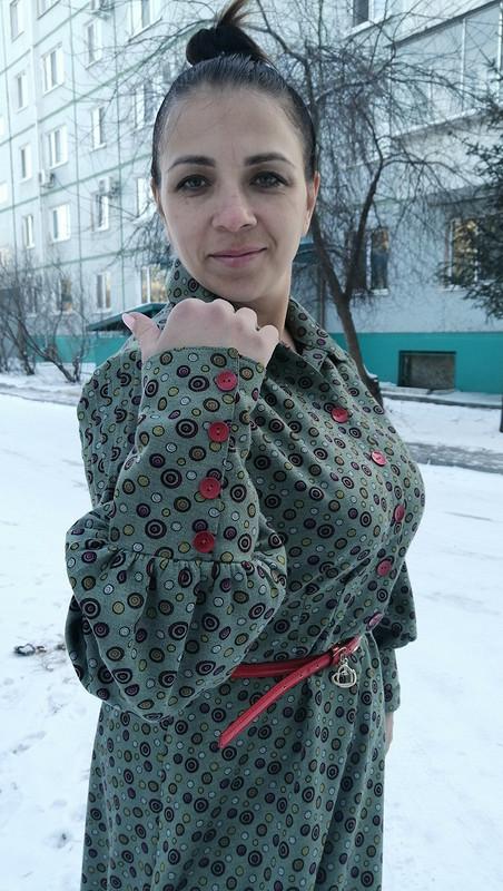 Платье смодными рукавами от Ktancha2