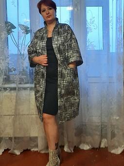 Работа с названием Пальто-кимоно 105 из 02/2021