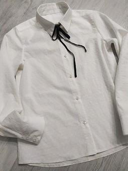 Работа с названием Рубашка для школы