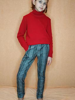 Работа с названием Идеальная выкройка детских брюк
