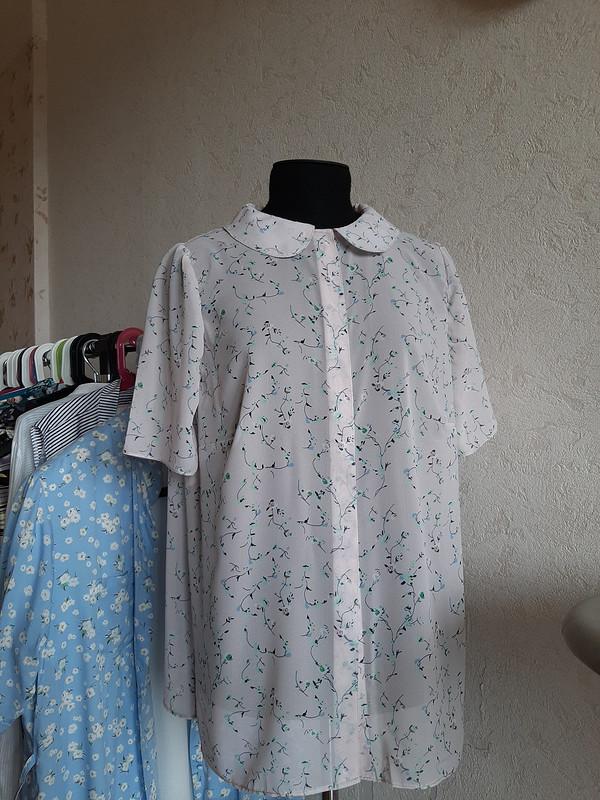 Шифоновая блузка от Salto