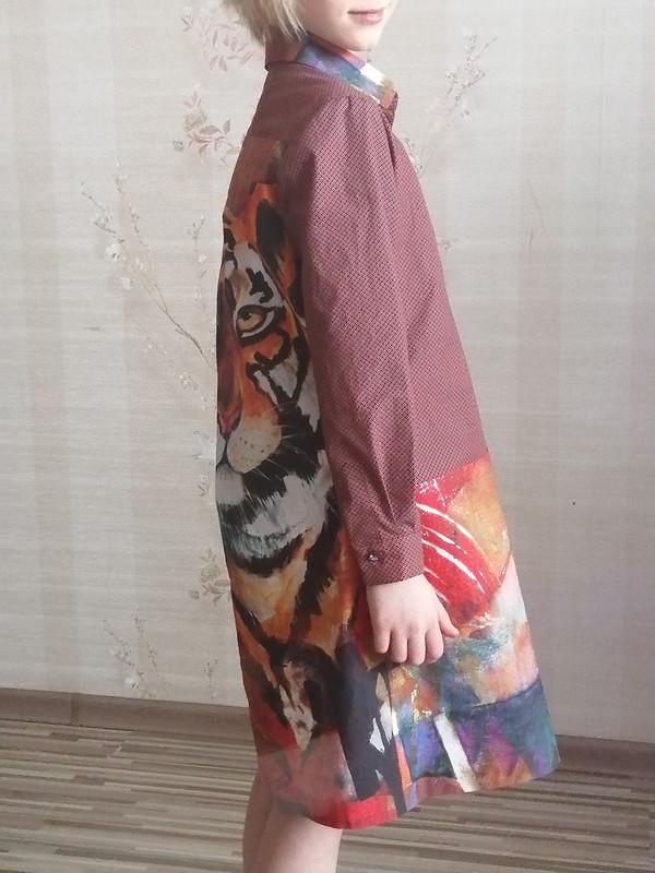Платье «Тигры длядочери» от Ezhevika