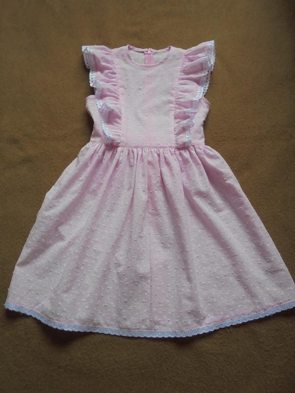 Платье изрозового батиста от Patrolaj