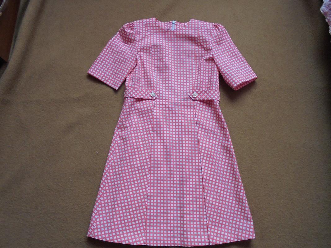 Платье вклеточку от Patrolaj
