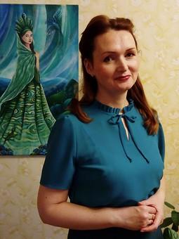 Работа с названием Блузка по выкройке платья