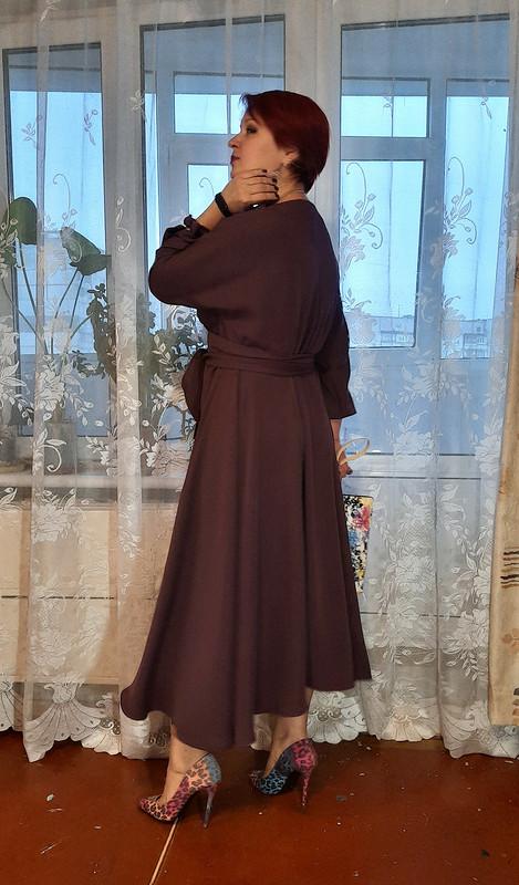 Платье-интерпретация модели 101 из2/2021 от marsellin